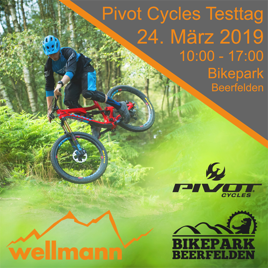 Wellmannbikes Pivot Cycles Testevent in Beerfelden